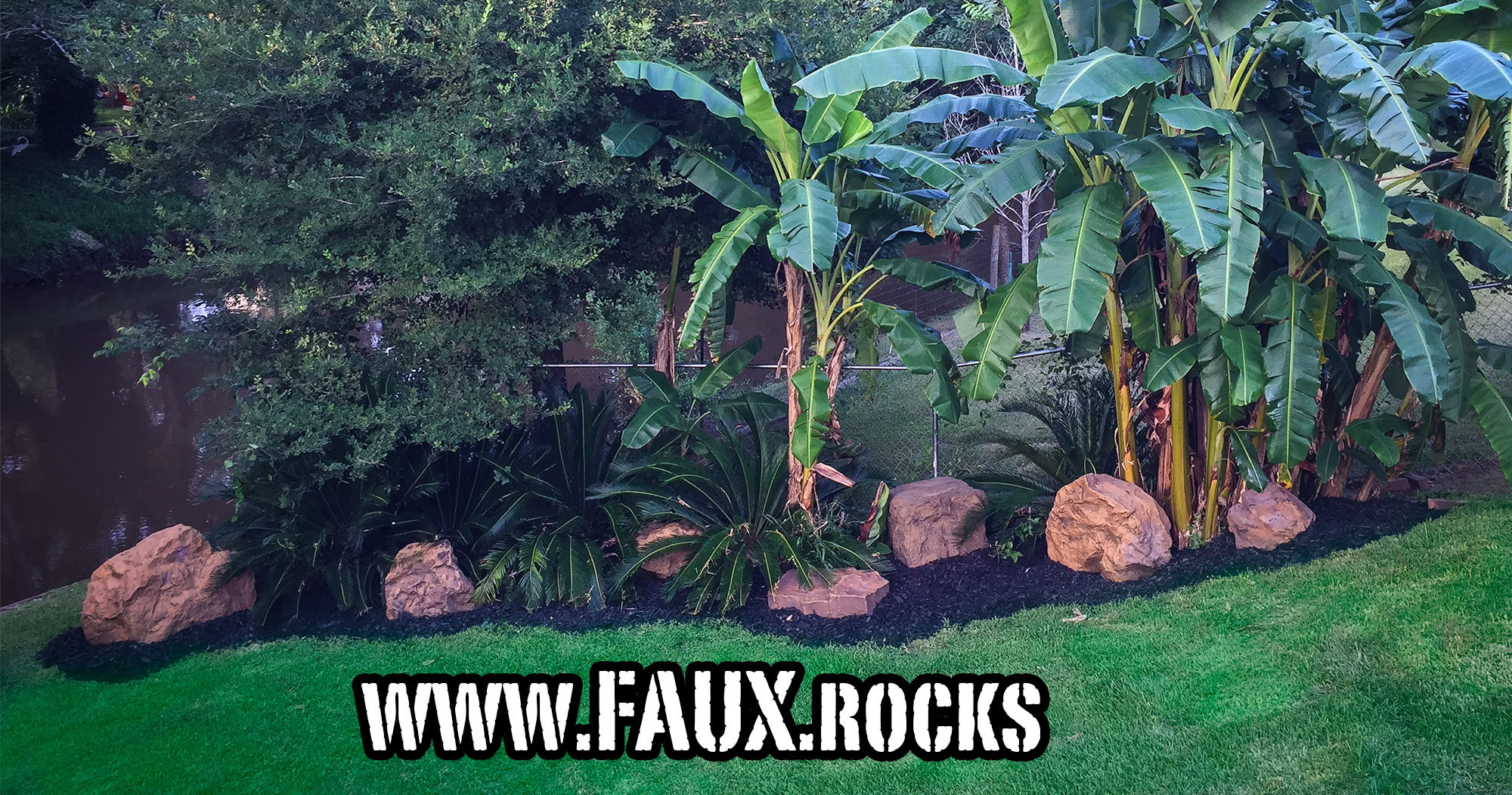 Do You Need Fake Landscaping Rocks In Your Houston Rock Garden? Houston Fake  Rocks Right Here.